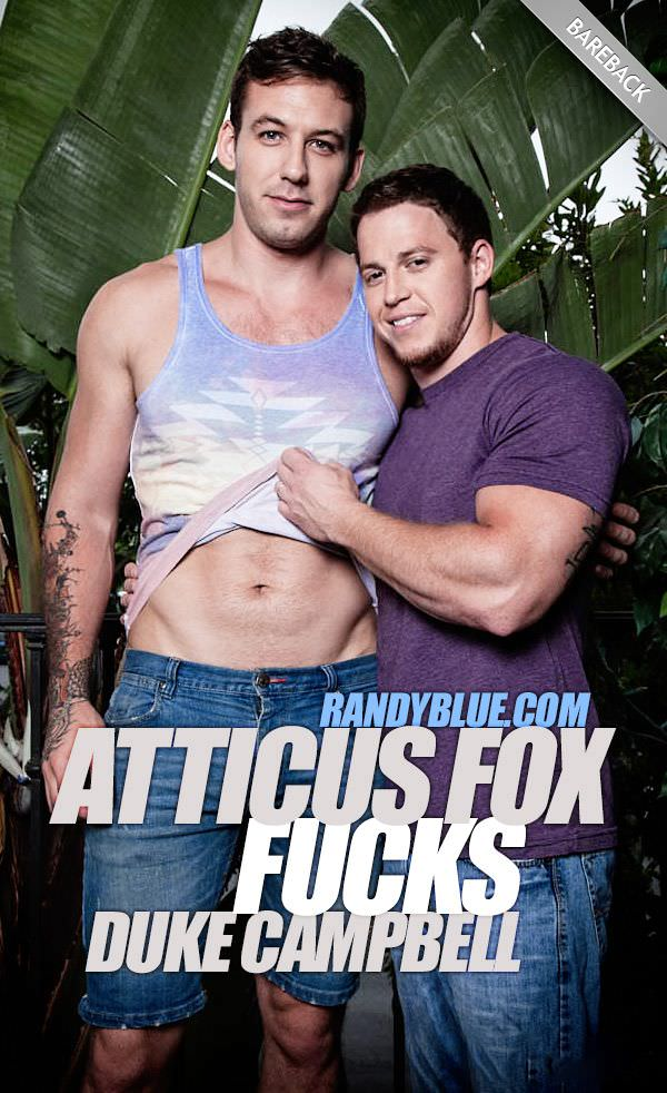 RandyBlue Atticus Fox Fucks Duke Campbell Bareback