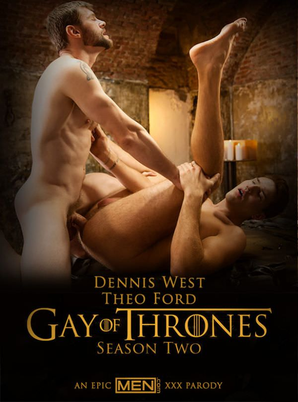 DrillMyHole Gay of Thrones, Part 8 Dennis West fucks Theo Ford Men.com