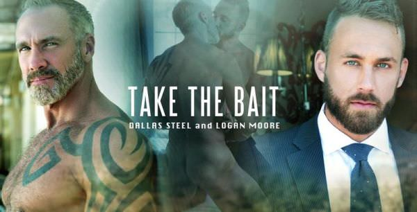 MenAtPlay Take The Bait Dallas Steel Logan Moore