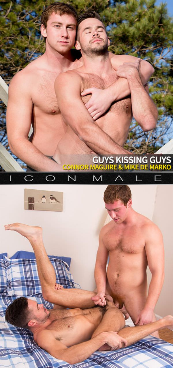 IconMale Guys Kissing Guys Connor Maguire Mike Demarko