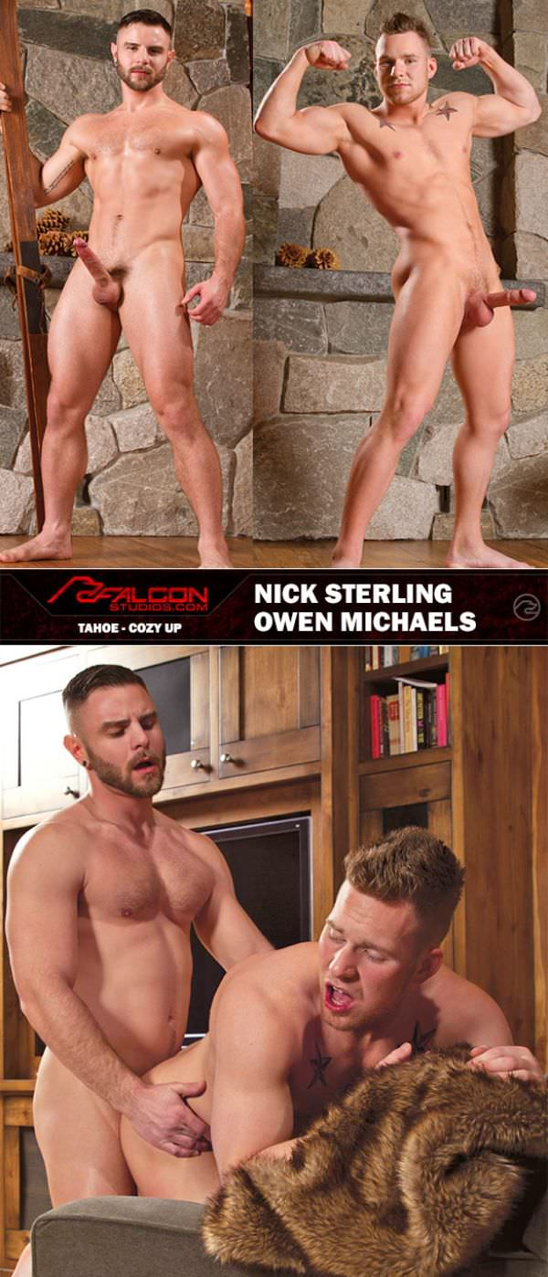 FalconStudios Tahoe Cozy Up Scene 5 Nick Sterling Owen Michaels