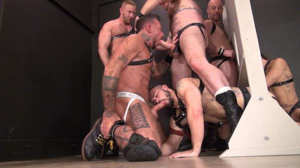 Rawandrough Glory Hole Fuck Fest Part 1 Bareback