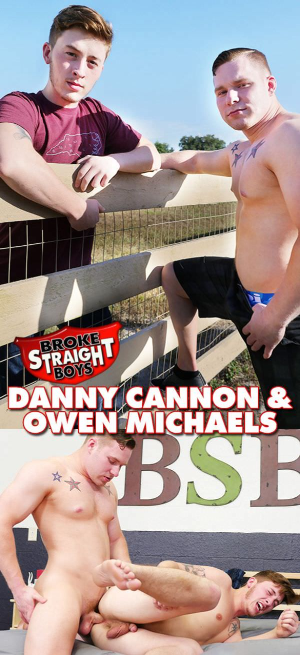 BrokeStraightBoys Owen Michaels Danny Cannon Bareback