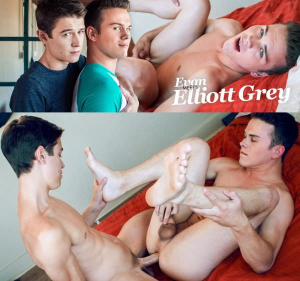 HelixStudios Evan Meats Elliott Grey Evan Parker Elliott Grey