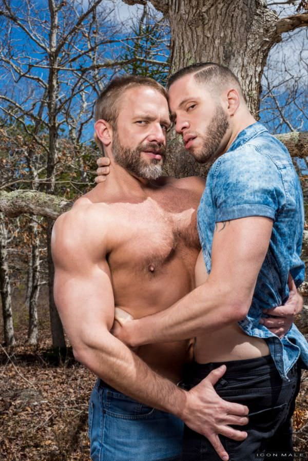 IconMale Guys Kissing Guys Wolf Hudson Fucks Dirk Caber Scene 4
