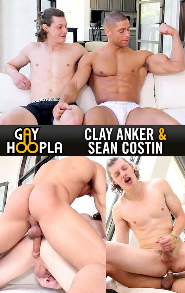 GayHoopla Sean Plows Clay Sean Costin Clay Anker