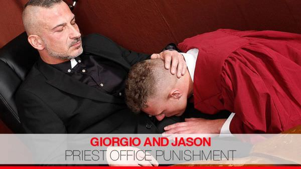 EuroCreme Priest Office Punishment Giorgio Arsenale Jason Goddard