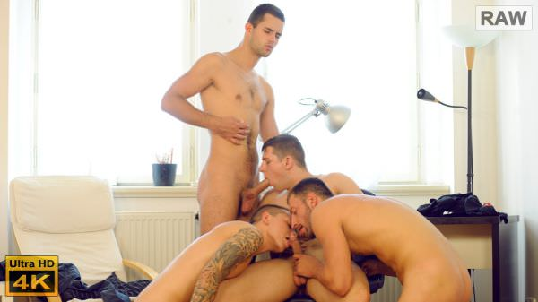 WilliamHiggins Wank Party 2015 #07 Part 1 Alan Carly Aron Ros Charli Lomoz Marion Anel RAW