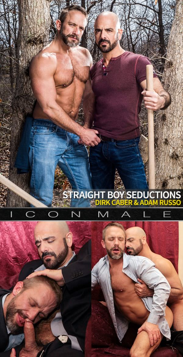IconMale Straight Boy Seductions Scene 3 Adam Russo Dirk Caber