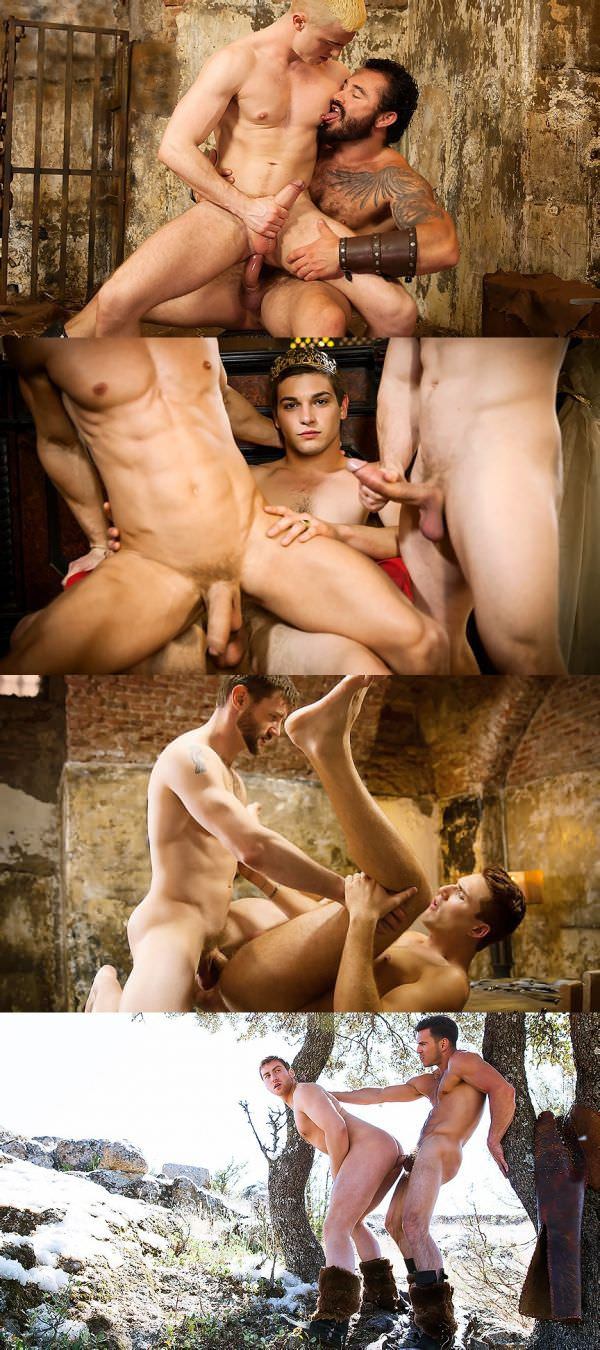 Exclusive Men.com Behind the Scenes Part 5 Gay Of throne