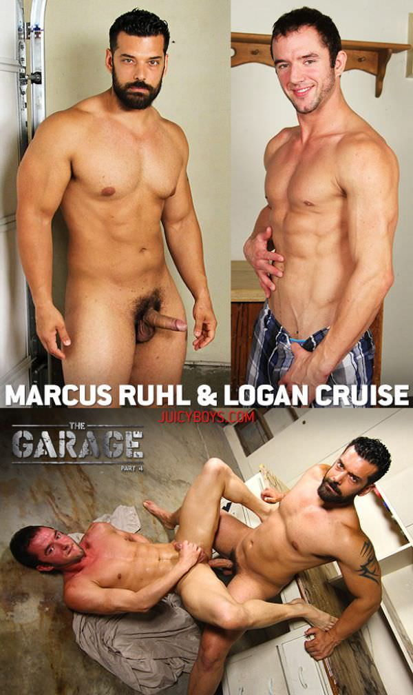 JuicyBoys The Garage Part 4 Logan Cruise Marcus Ruhl Bareback