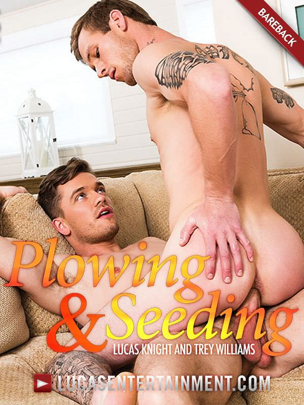 LucasEntertainment Lucas Knight Unleashes His Monster Cock On Trey Williams Bareback