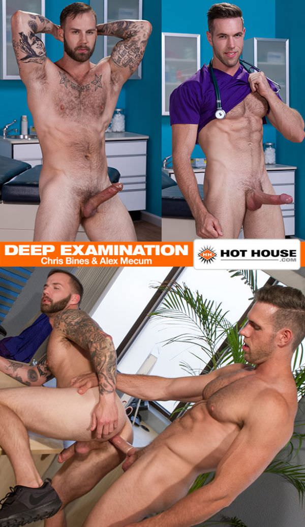 HotHouse Deep Examination Alex Mecum bangs Chris Bines