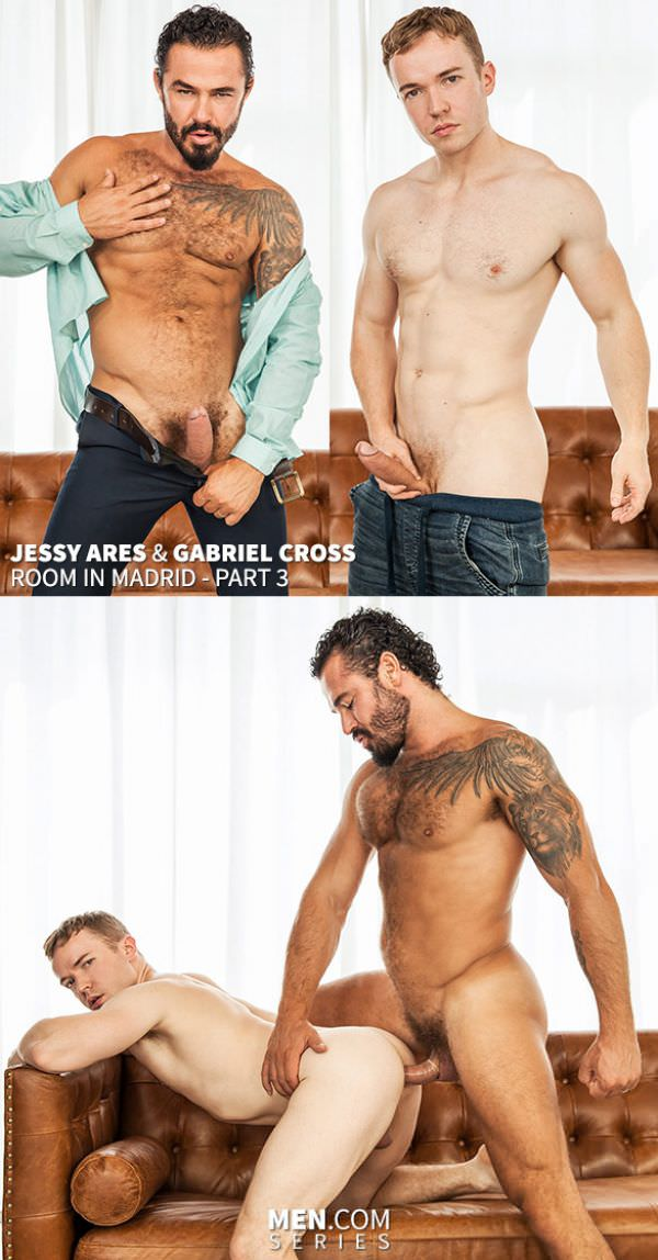 Men of UK Room In Madrid Part 2 Gabriel Cross Jessy Ares Men.com