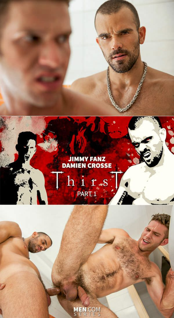 DrillMyHole Thirst Part 1 Damien Crosse Jimmy Fanz Men.com