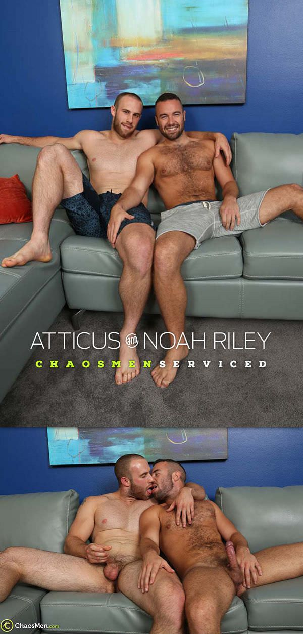 ChaosMen Atticus Noah Riley Serviced