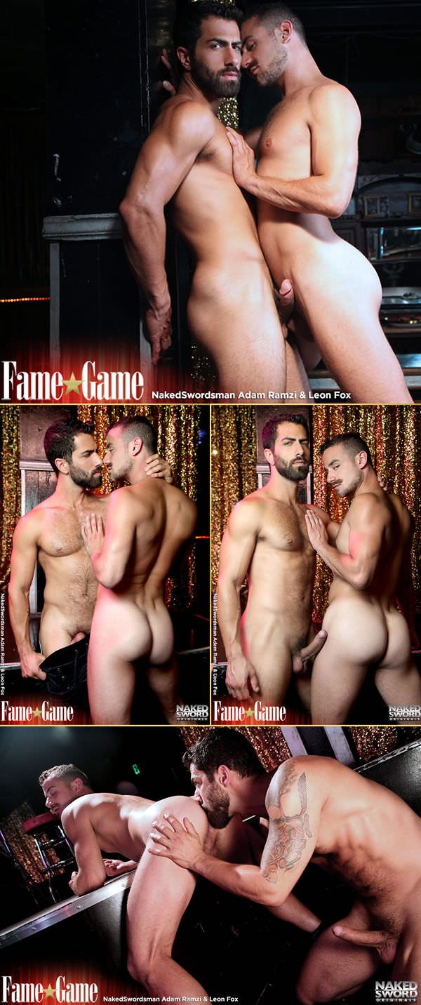 NakedSword Fame Game Episode 1 I'll Do Anything Adam Ramzi Leon Fox