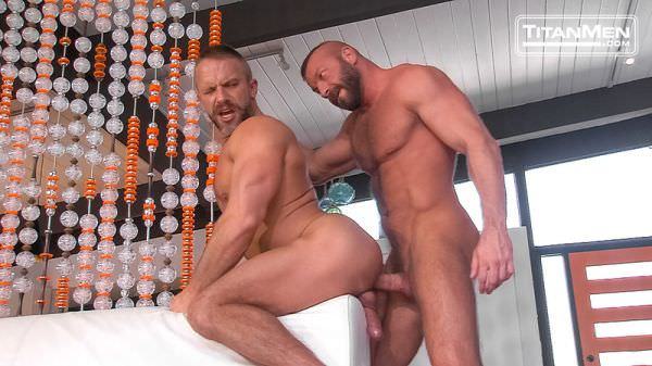 TitanMen Double Exposure Dirk Caber Hunter Marx