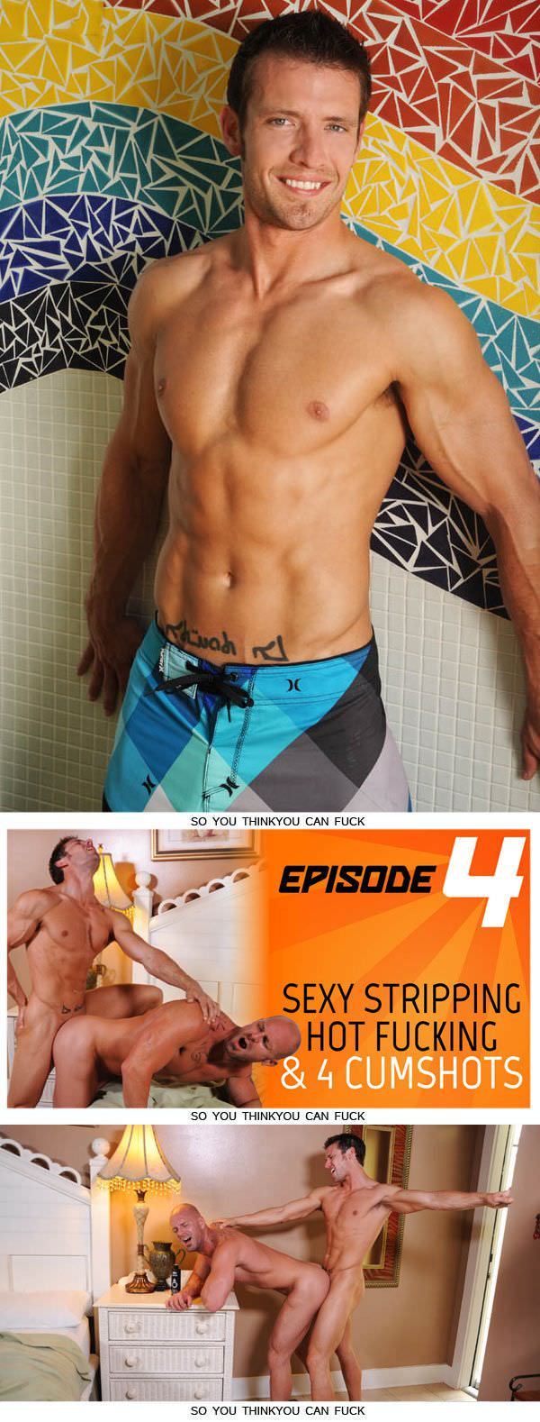 DominicFord SYTYCF II Episode 4 Sexy Stripping, Hot Fucking, 4 Cumshots Kevin Crows Mitch Vaughn