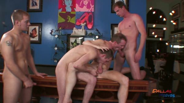 DallasReeves Dallas Reeves, Rod Lee Hunter Cole Threesome