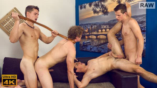 WilliamHiggins Wank Party 2015 #09 Part 2 Denis Develo Laco Meido Patrik Maly Vaclav Chovanec RAW
