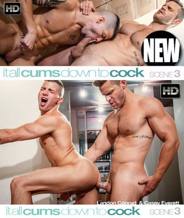 C1R It All Cums Down To Cock Scene 3 Casey Everett Landon Conrad