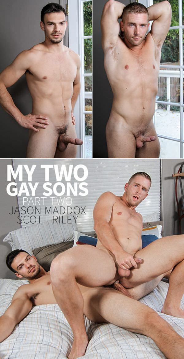 DrillMyHole My Two Gay Sons, Part 2 Scott Riley rides Jason Maddox Men.com