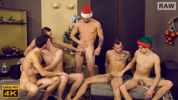 WilliamHiggins Xmas Wank Party 2015, Part 1 - Alex Stan, Laco Meido, Martin Dorcak, Milan Pokorny, Nikol Monak & Roco Rita - RAW