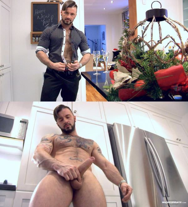 Maskurbate First Cum of the New Year - Manuel Deboxer, Pascal
