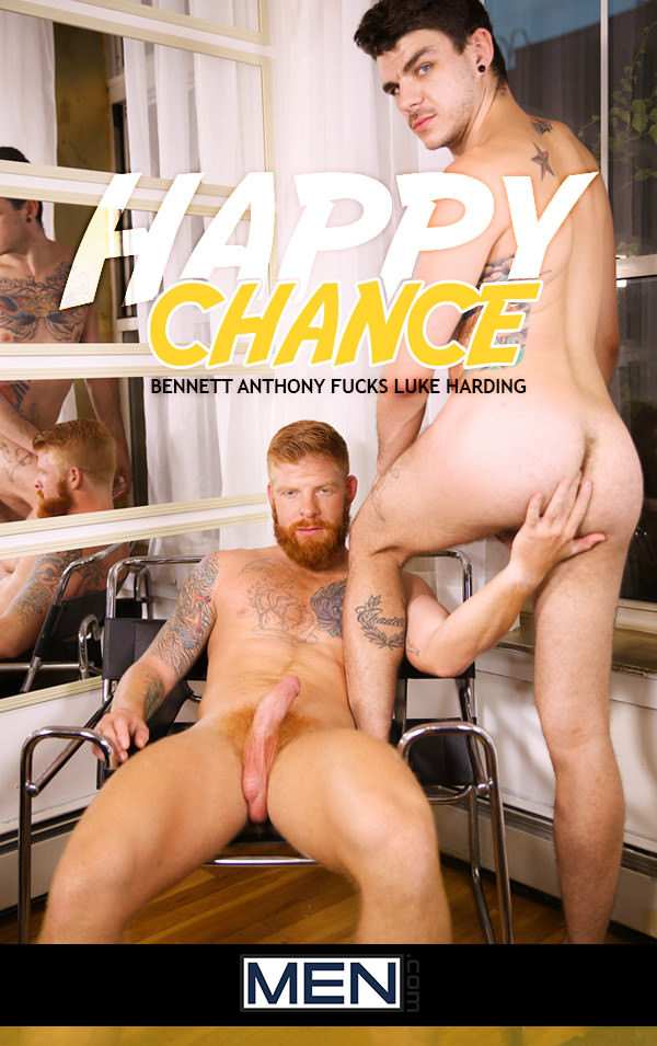 DrillMyHole Happy Chance Part 2 Bennett Anthony Fucks Luke Harding Men.com