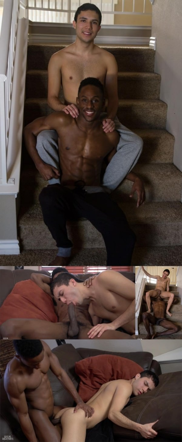 GuysInSweatPants Augustine takes not one, but TWO loads! Augustine Mayor Liam Cyber Bareback