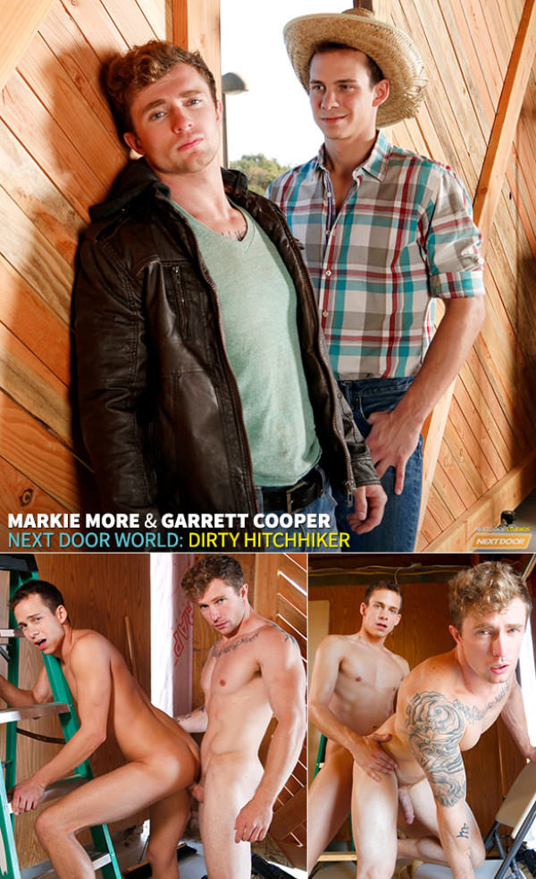 NextDoorBuddies Dirty Hitchhiker Markie More Garrett Cooper