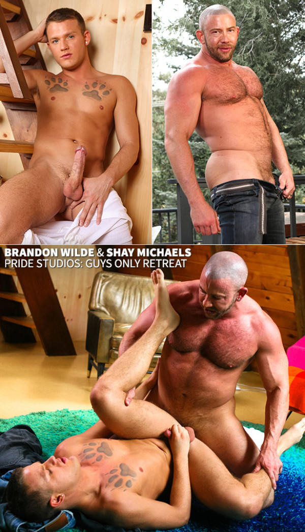 DylanLucas Guys Only Retreat Brandon Wilde Shay Michaels
