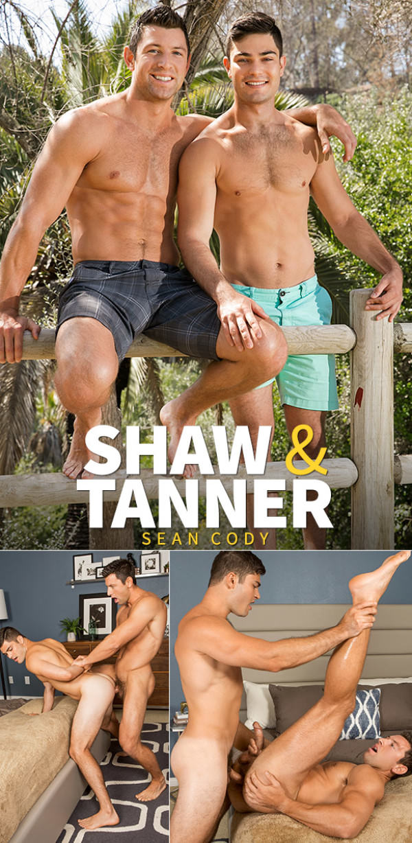 SeanCody Tanner fucks Shaw's virgin ass raw