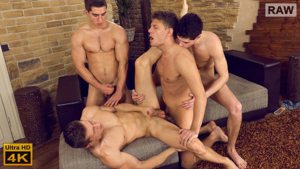 WilliamHiggins Wank Party 2016 #04, Part 2 Rosta Benecky Erik Drda Milan Belan Martin Dorcak RAW
