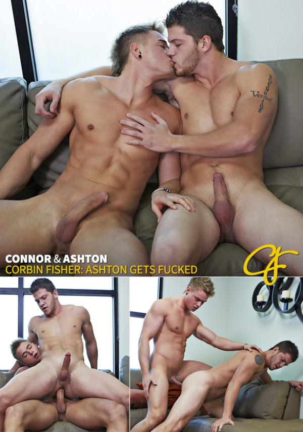 CorbinFisher Connor barebacks Ashton