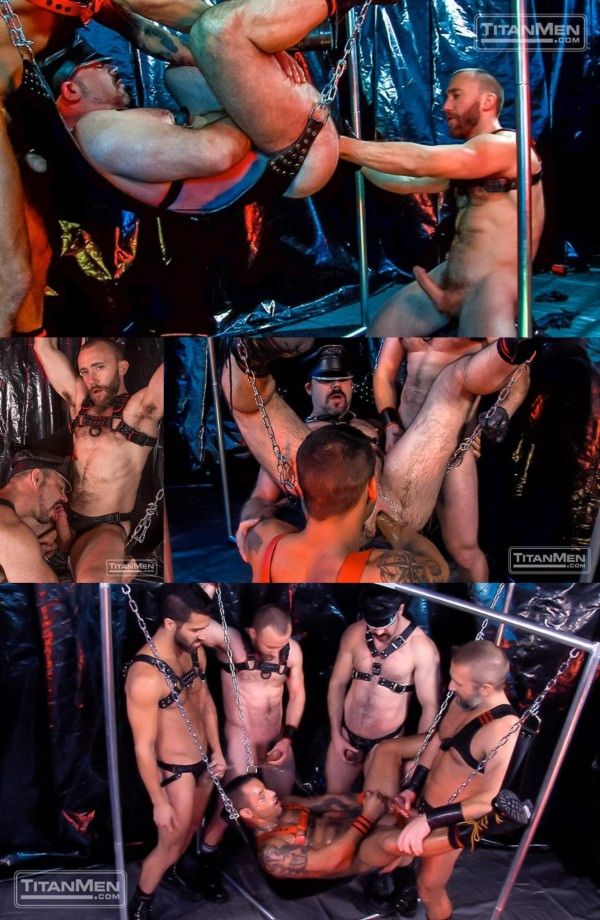 TitanMen Rough Trade: TitanMen exclusives David Benjamin & Nick Prescott with Dirk Caber, Adam Ramzi Dolan Wolfe