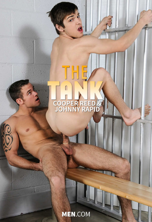 Str8toGay The Tank Cooper Reed fucks Johnny Rapid Men.com