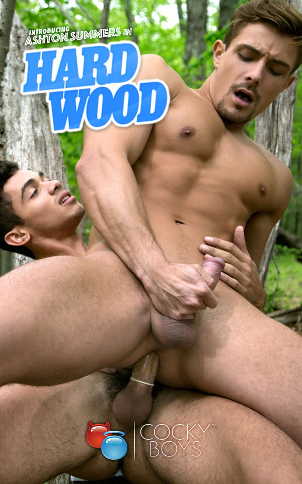 CockyBoys Hard Wood Introducing Ashton Summers with Carter Dane