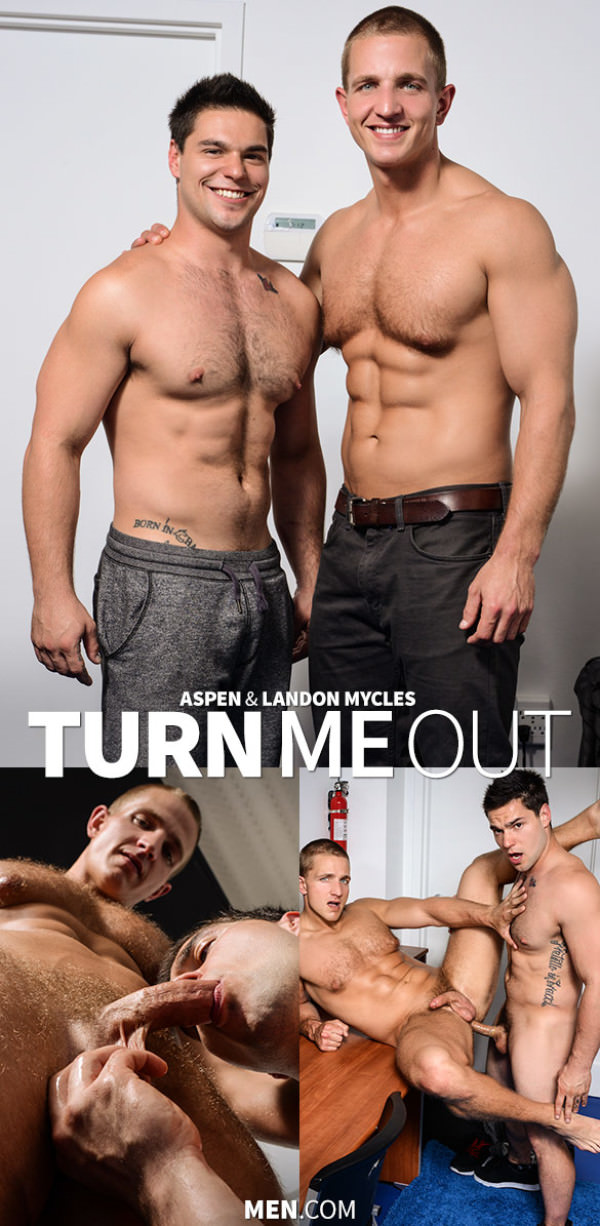 DrillMyHole Turn Me Out Aspen bangs Landon Mycles Men.com