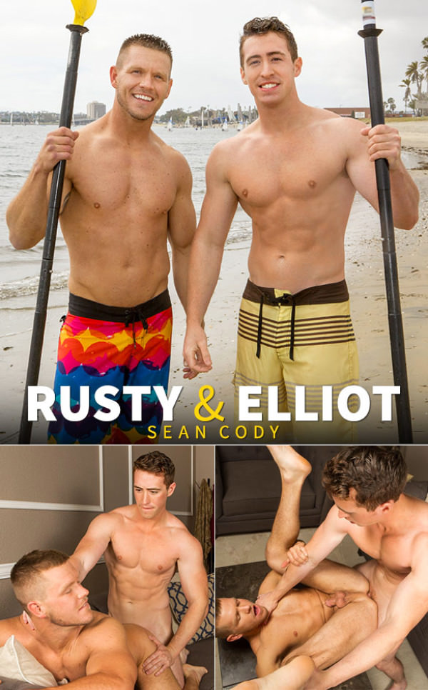 SeanCody Elliot barebacks Rusty