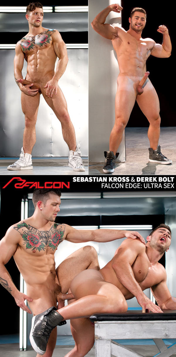 FalconStudios Ultra Sex Sebastian Kross fucks newcomer Derek Bolt
