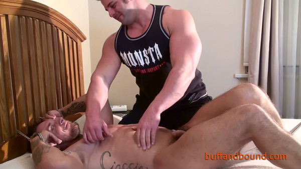 Mission4muscle Carmine Deangelo Bound and Tickled