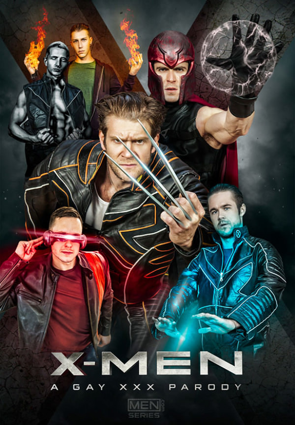 Men.com X-Men – A Gay XXX Parody, Part 4 - Paddy O'Brian, Colby Keller, Landon Mycles, Brenner Bolton, Mike De Marko Paul Canon