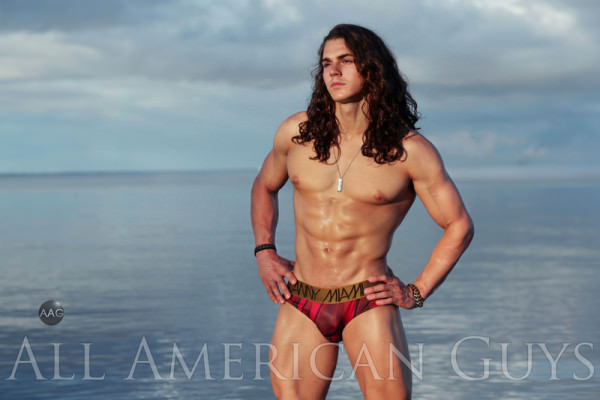 AllAmericanGuys Fitness fashion fusion with Kyle G