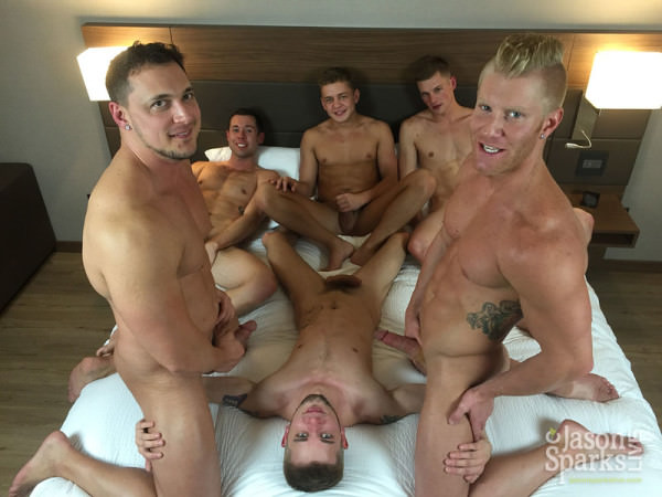 JasonSparksLive Cash Lockhart, Ian Levine, Joey D, Johnny V, Joshua James Ty Thomas Bareback