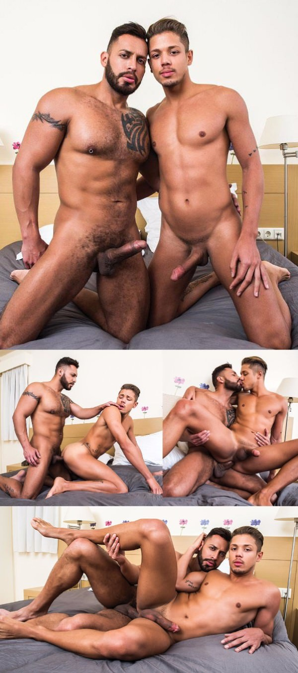 Lucas Entertainment Hard-Hitting Tops ,Scene 3 Viktor Rom Visser Pounds Lorenzo Ciao