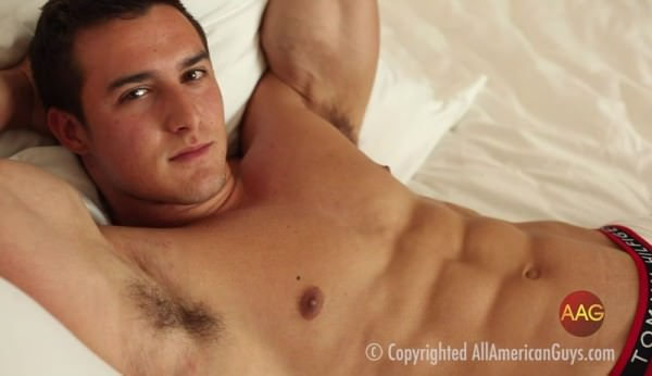 AllAmericanGuys Sexy Justin Deroy from Vegas shoot