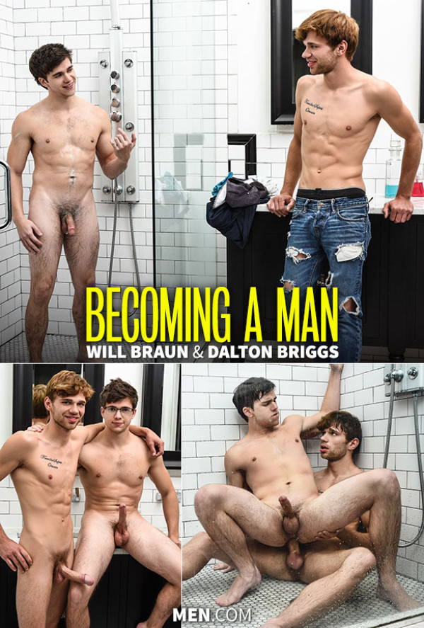 Str8toGay Becoming a Man Dalton Briggs fucks Will Braun Men.com