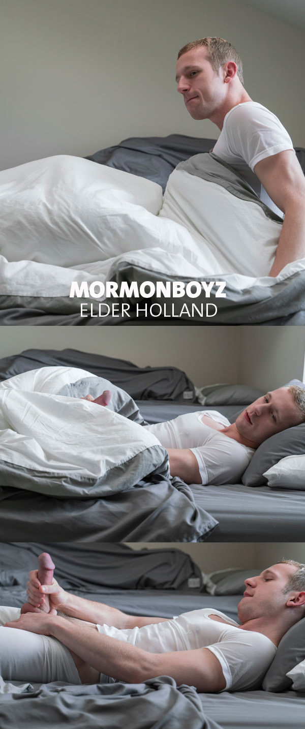 Mormonboyz Elder Holland Works His Massive Meat!